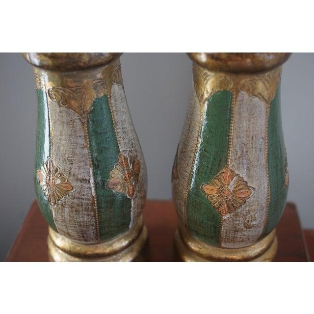 Italian 1950s Vintage Italian Wood Salt & Pepper For Sale - Image 3 of 4