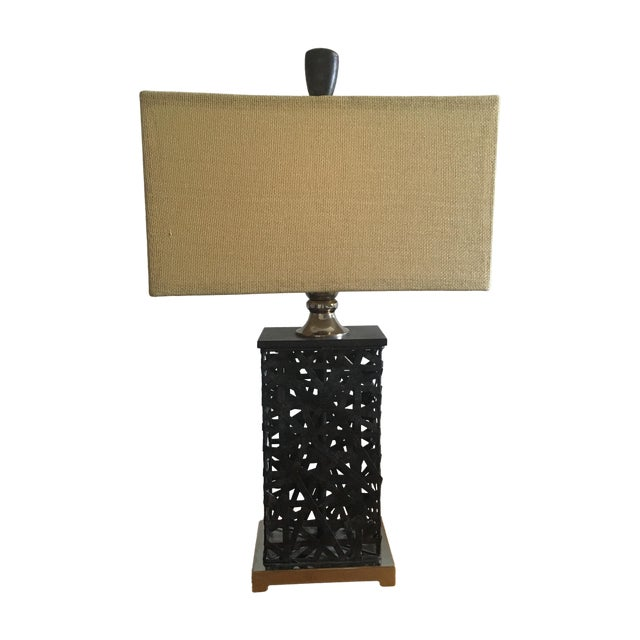 Asian Contemporary Lamp - Image 1 of 5