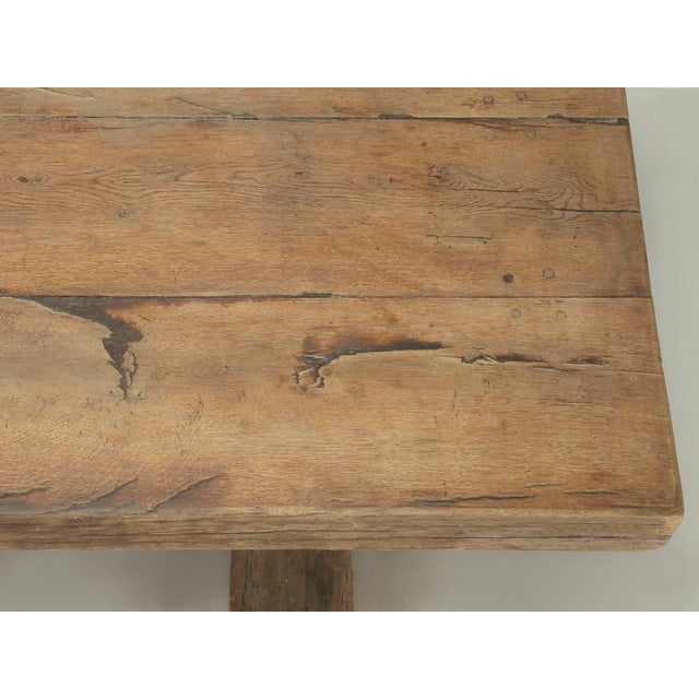 17th Century Antique French Trestle Table, Circa 300 Years Old For Sale - Image 5 of 10