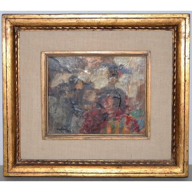 Black Marsh Nelson (American, Mid 20th C.) Mixed Media Abstract Composition C.1967 For Sale - Image 8 of 8