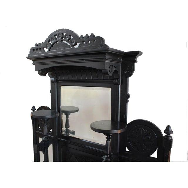 Ebonized Victorian Cabinet - Image 2 of 4
