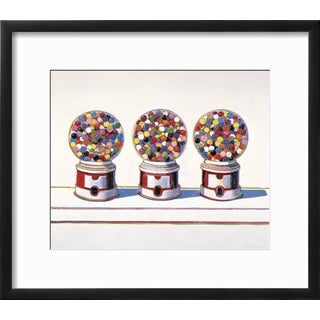 "1963 ""Three Machines"" Giclee Print by Wayne Thiebaud For Sale"