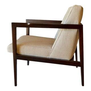 1950s Mid-Century Modern Dunbar Open Frame Lounge or Armchair For Sale