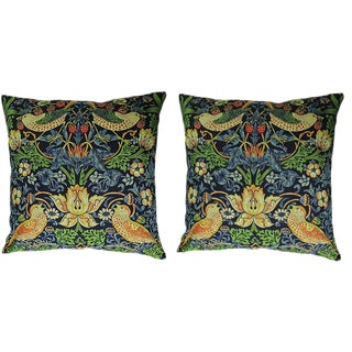 Persian Decorative Accent Pillows - a Pair, 14ʺw × 14ʺh For Sale
