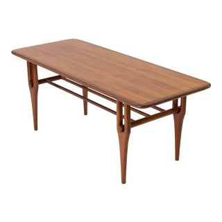 1950s Teak Coffee Table by Ljungqvist Mobelfabrik For Sale
