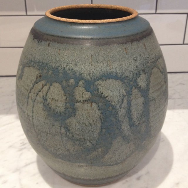 Mid-Century Studio Pottery Lidded Jar - Image 5 of 5