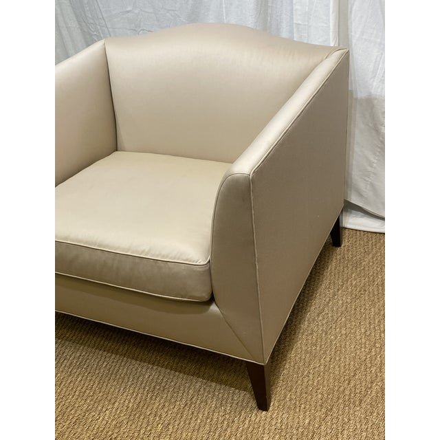 Baker Furniture Company Club Chair by Baker Furniture For Sale - Image 4 of 11