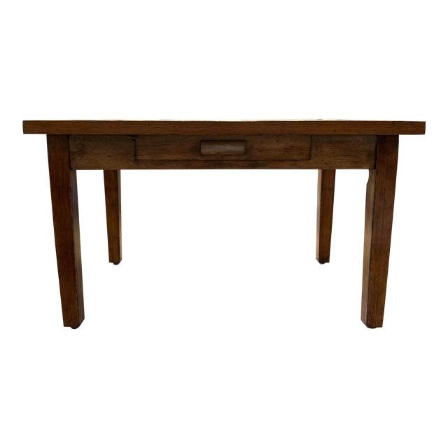 Antique Primitive Dining Table For Sale