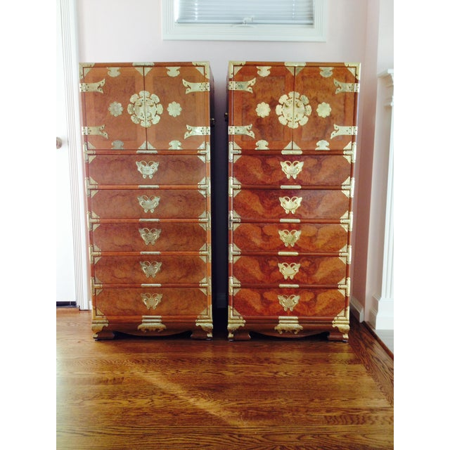 Vintage Asian Camphorwood Dresser - Image 4 of 8