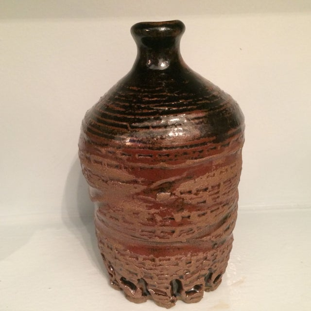 Glazed Ceramic Urn - Image 2 of 7