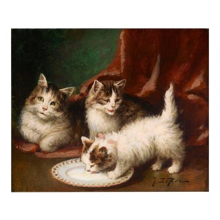 Famille de Chats by Jules Leroy