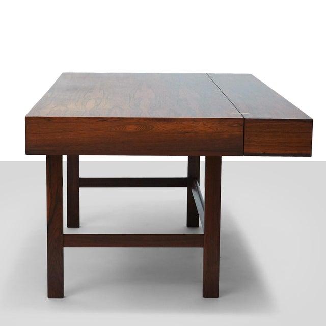 Partners Desk by Peter Lovig Nielsen For Sale In San Francisco - Image 6 of 11