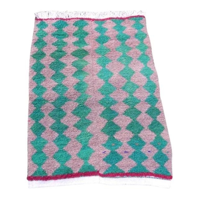 Modern Turkish Angora Tulu Rug For Sale
