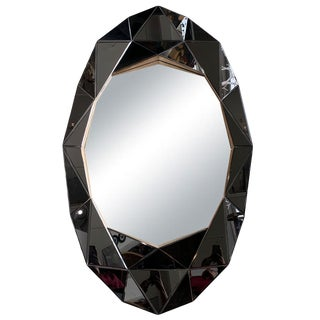 Vintage Origami Mirror For Sale