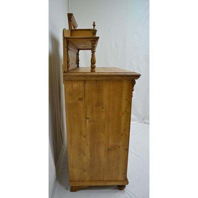 Pine Late 19th Century Pine Chiffonier For Sale - Image 7 of 9