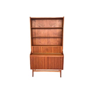 Danish Modern Teak Secretary Desk For Sale