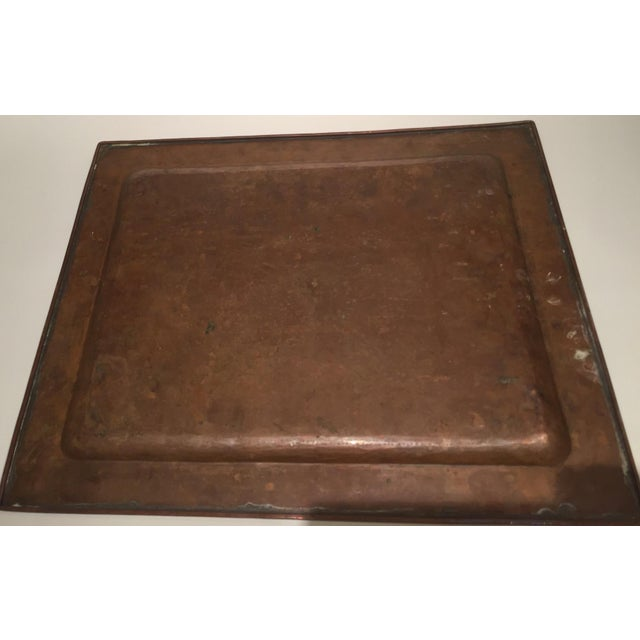 Arts and Crafts Handmade Copper Tray - Image 3 of 4