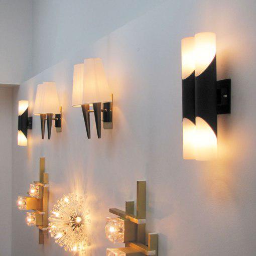 Pair of German Double Wall Lights by Neuhaus Leuchten - Image 10 of 10