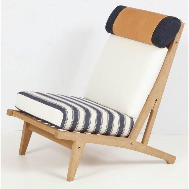 "Mid-Century Modern Circa 1960's Hans J. Wegner Denmark ""Getama"" Lounge Chairs- a Pair For Sale - Image 3 of 13"