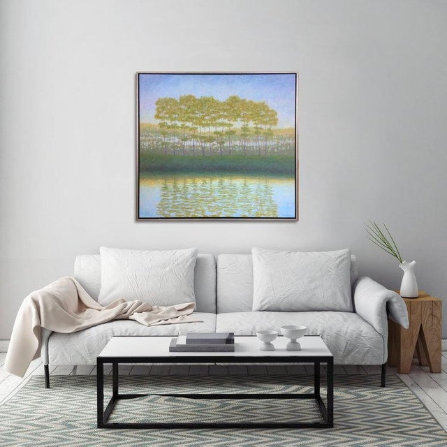 Contemporary Rob Longley, Morning Reflections Painting, 2018 For Sale - Image 3 of 8