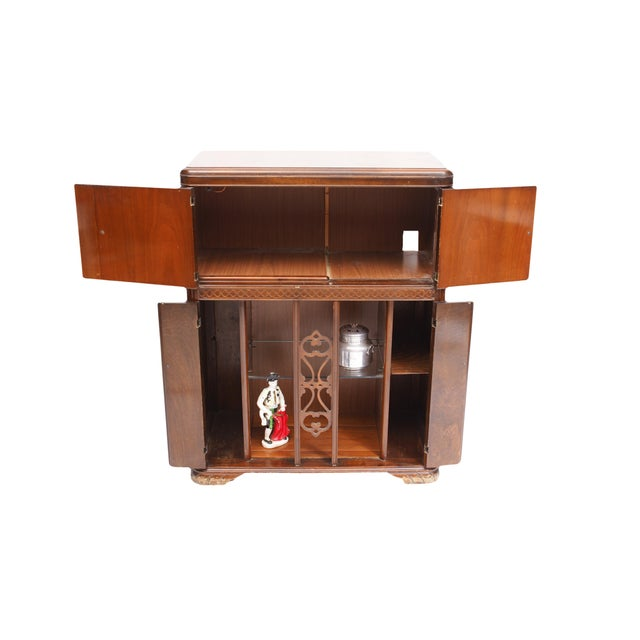Traditional AntiqueUpcycled Radio to Bar Cabinet For Sale - Image 3 of 5