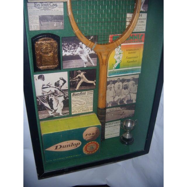English Tennis Shadow Box - Image 4 of 7