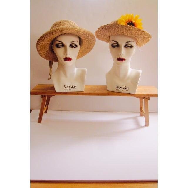 Vintage Modernist Mannequin Display Heads - Pair - Image 6 of 8