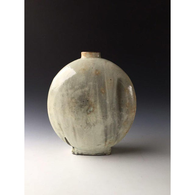Contemporary Kang Hyo Lee, Buncheong Flat Bottle, 2016 For Sale - Image 3 of 3