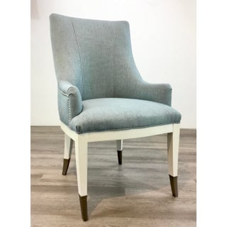 Caracole Couture Modern Robbins Egg Blue and White a La Carte Chairs Pair Preview