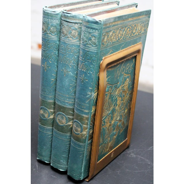 Roycroft Hammered Copper Bookends - A Pair For Sale - Image 9 of 10