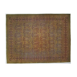 Leon Banilivi Antique Amritzar Carpet - 9' X 12' For Sale