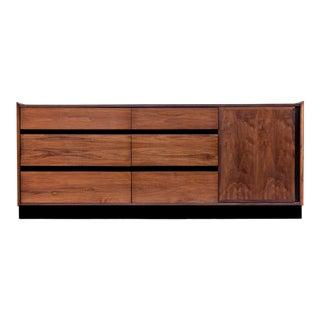 Dillingham Esprit Walnut Dresser For Sale