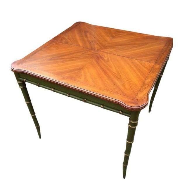 Vintage Regency Style Kindel Dining Table - Image 1 of 5