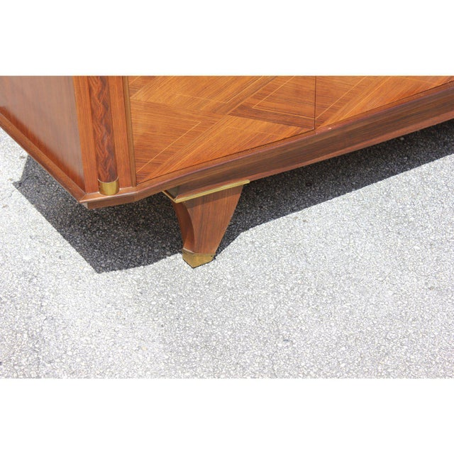 1940s French Art Deco Rosewood Sideboards or Buffet For Sale - Image 9 of 13