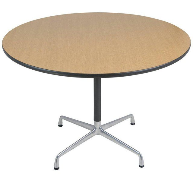 Aluminum Charles & Ray Eames for Herman Miller Aluminum Group Dining Table, Circa 1970 For Sale - Image 7 of 7