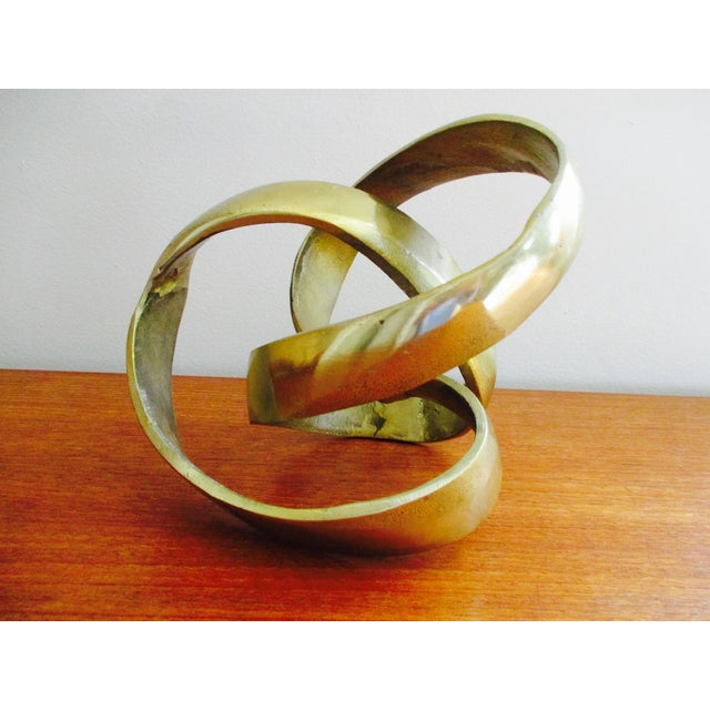 Modernist Abstract Free Form Sculpture or Bookend - Image 7 of 10