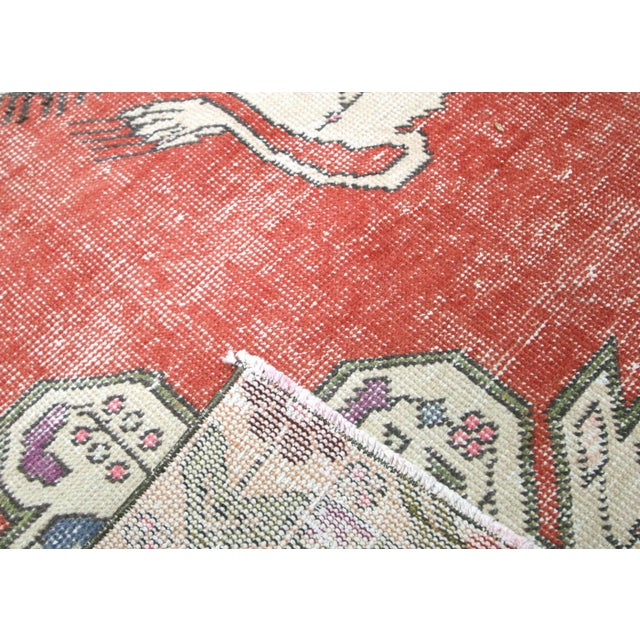 """Nalbandian - 1960s Turkish Oushak Rug - 4'4"""" X 6'8"""" For Sale In Los Angeles - Image 6 of 7"""
