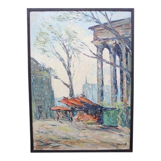 Windy Scene Painting Framed For Sale