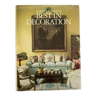 Vintage 1987 First Edition House & Garden's Best in Decoration For Sale
