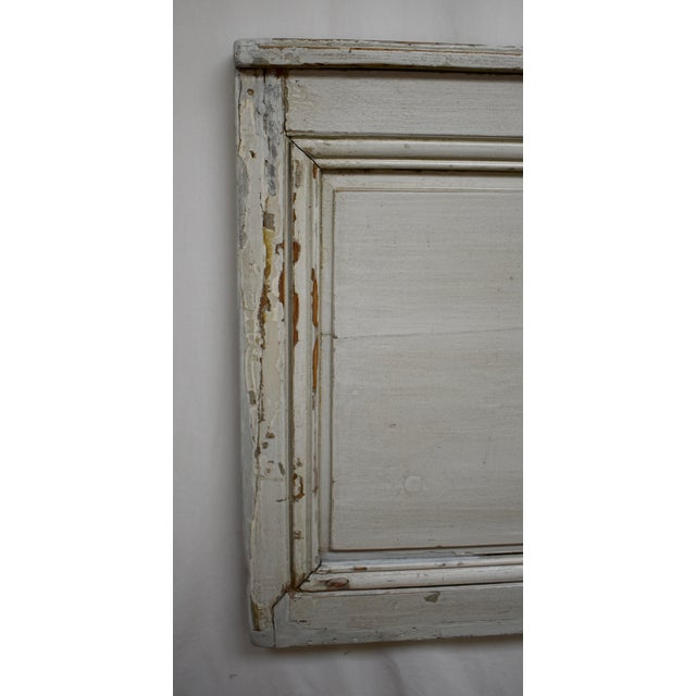 19th Century French Pine Queen Size Headboard For Sale - Image 4 of 8