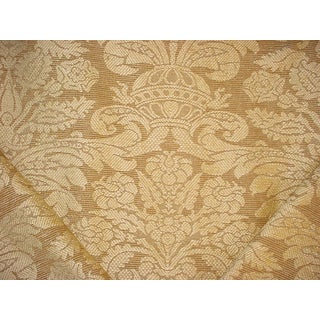 Brunschwig Et Fils Br-89430 Barnstable Chenille Golden Upholstery Fabric - 6-1/2y For Sale