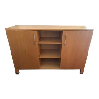 Mid Century West Elm Sideboard/Tv Console For Sale