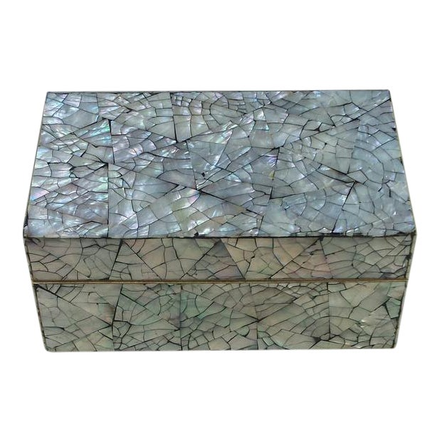 Abalone Shell Mosaic Box For Sale