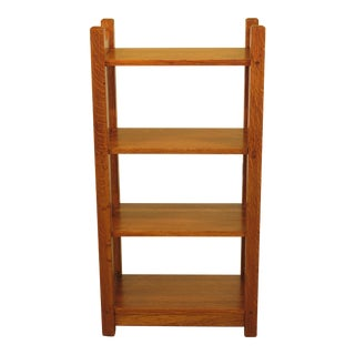 Vintage Mission Oak Stickley Style Bookcase