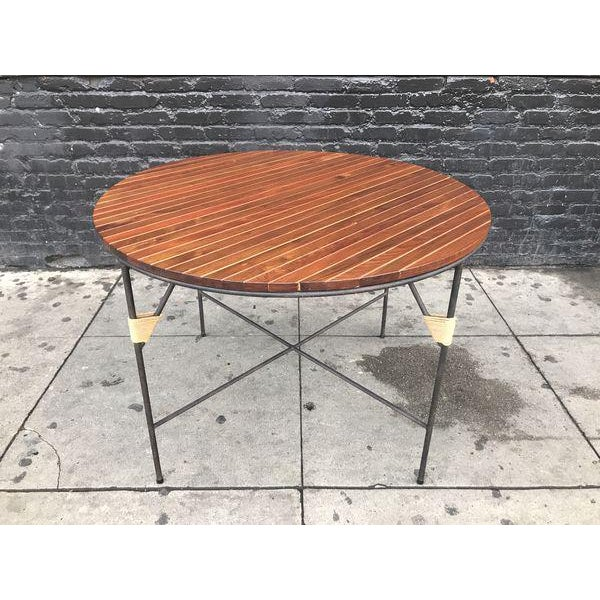 Auburn Beautiful Mid Century Modern Dining Set by Arthur Umanoff For Sale - Image 8 of 9