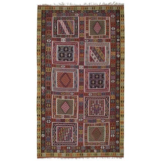 Superb Antique Bayburt Kilim For Sale