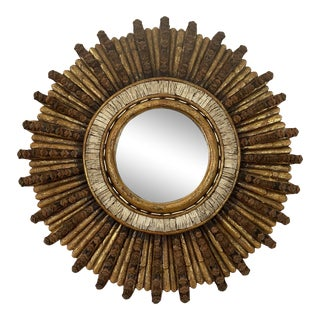 Adirondack Sunburst Mirror For Sale