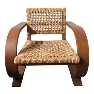 Ralph Lauren Home Black Palms Arm Chair For Sale