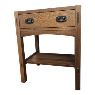 1990s Mission Stickley Night Stand For Sale