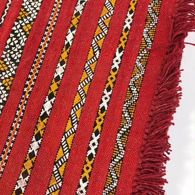 Moroccan Handmade Kilim Rug - 7′6″ × 11′6″ - Image 10 of 11